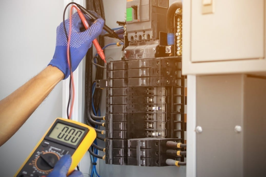 Panel repair and installation Service Laurel Maryland